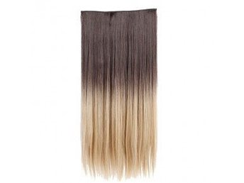 Ombre Hair Extension 25inch, straight 1pcs/set Real Natural Hairpieces, nytt
