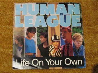 "Human League - Life On Your Own    7"" PS"