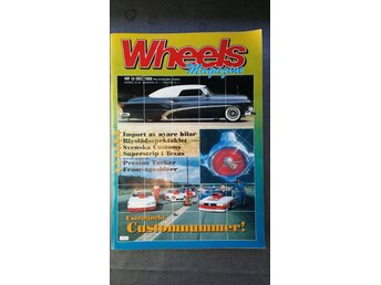 Wheels nr 12 1988: Pontiac Catalina 1952, custom, Tucker