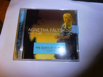 Agnetha Fältskog - That's Me - The Greatest Hits (Abba) (Cd)