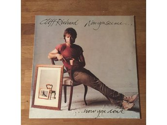 CLIFF RICHARD - NOW YOU SEE ME. (MVG LP)