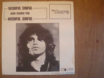 DOORS - WISHFUL SINFUL METRONOME SWEDEN P/S 1969 PROMO SAMPLE RECORD 7´´ SINGEL
