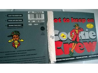 Cookie Crew - Got To Keep On, single CD