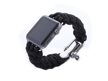 Weave Apple Watch band  38mm svart
