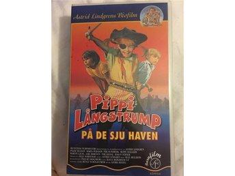VHS film Astrid Lindgren Pippi Långstrump på det sju haven! - Tullinge - VHS film Astrid Lindgren Pippi Långstrump på det sju haven! - Tullinge