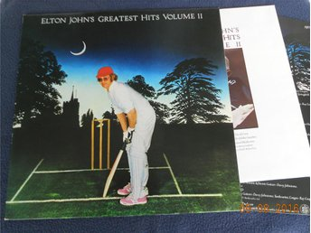 ELTON JOHN - Greatest Hits Vol. 2, LP DJM UK 1977