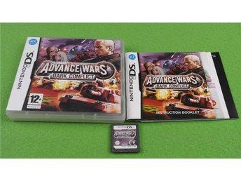 Advance Wars Dark Conflict Nintendo DS - Hägersten - Advance Wars Dark Conflict Nintendo DS - Hägersten