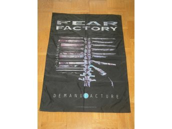FEAR FACTORY (Flagga) 107X75