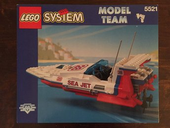 LEGO SYSTEM MODEL TEAM RACERBÅT
