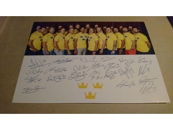 Tre Kronor, World Cup, Autografer