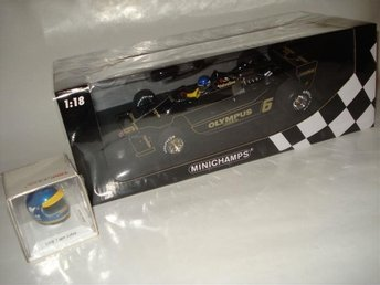 Minichamps 1:18 F1 Lotus Ford 79 #6 Ronnie Peterson TSM 1:8 hjälm - Lindås - Minichamps 1:18 F1 Lotus Ford 79 #6 Ronnie Peterson TSM 1:8 hjälm - Lindås