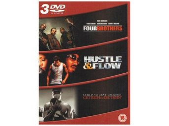 Four Brothers / Hustle & Flow / Get Rich Or Die Tryin - DVD Box