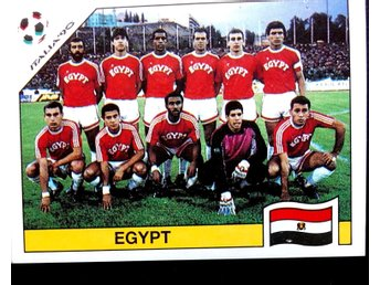 PANINIs  STICKERS - ITALY 90 -   EGYPT  team.