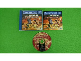 Star Wars Demolition KOMPLETT Sega Dreamcast