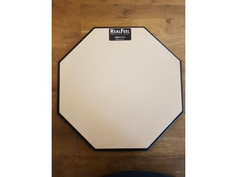 "Real Feel Practice pad 12"" single gum! Övningsplatta."