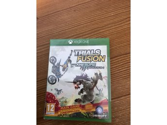 Trials fusion the awesome max edition. Nytt inplastad xboxone