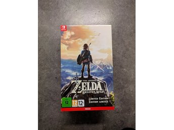 Zelda Breath of the Wild Limited Edition till Nintendo Switch