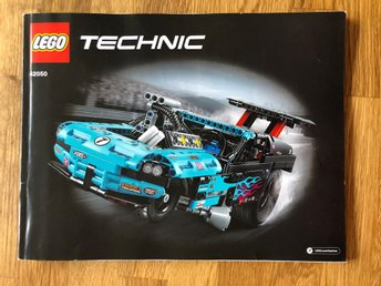 - LEGO Technic 42050 Dragster -