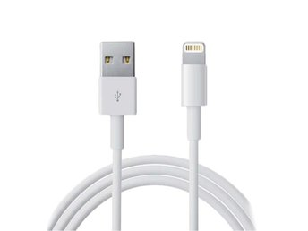 1m iPhone Laddkabel Apple Lightning Quick Charge 3A