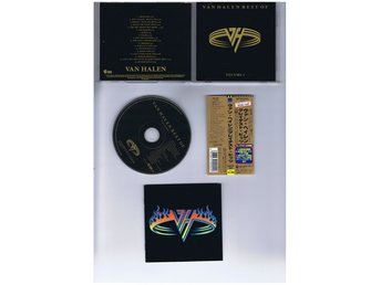 VAN HALEN-Best of Volume 1(Klassisk California hardrock!!)JAP CD