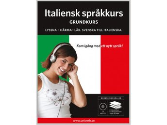 Italiensk grundkurs på MP3-CD