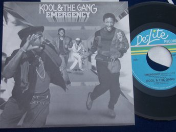 "KOOL & THE GANG - EMERGENCY 7"" 1985"