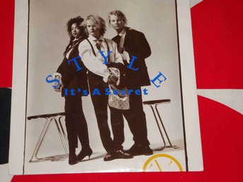 "STYLE - IT´S A SECRET 7"" 1988"