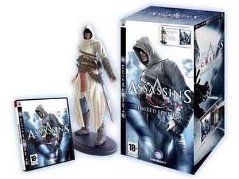 Assassins Creed Limited Edition PS3 spel *SLUTSÅLD / RARE * med figuren - Nynäshamn - Assassins Creed Limited Edition PS3 spel *SLUTSÅLD / RARE * med figuren - Nynäshamn
