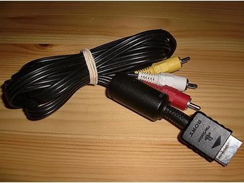 PS: RCA AV-kabel (Sony original)