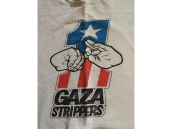 Vintage Gaza Strippers T-shirt Large US