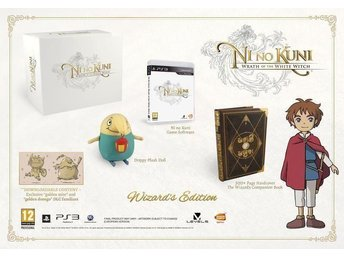 Ni No Kuni : Wrath of the white witch WIZARDS EDITION PS3 NYTT o INPLASTAT spel