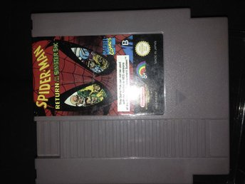 Spiderman Return of the sinister six. Nes
