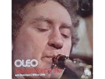 The Lee Konitz Trio title* Oleo*UK LP