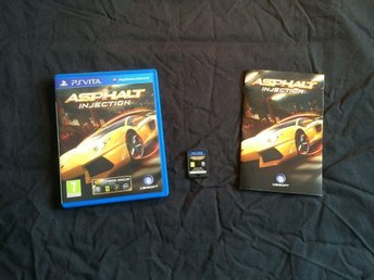 ASPHALT INJECTION   PS VITA PLAYSTATION VITA  FINT SKICK UBISOFT