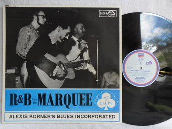 ALEXIS KORNER'S BLUES INCORPORATED - R&B FROM THE MARQUEE - Helsingborg - ALEXIS KORNER'S BLUES INCORPORATED - R&B FROM THE MARQUEE - Helsingborg