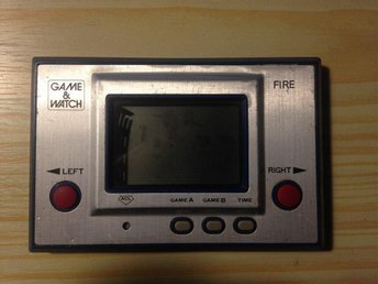 Game & Watch Fire Silver