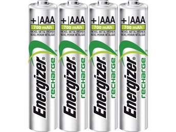 Laddbart batteri R03 (AAA) NiMH Energizer Power Plus HR03 700 mAh 1.2 V 16st