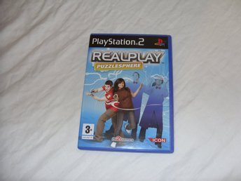 RealPlay Puzzlesphere Sony Playstation 2 PS2 PAL Engelsk pussel spel