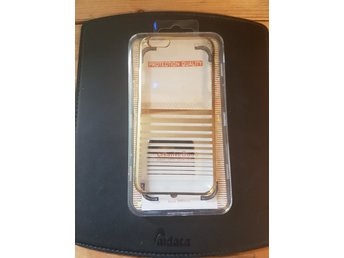 Iphone 6 Case, Silverram med transparant baksida.