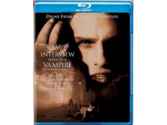 Interview With The Vampire BLU-RAY BD 1994 NY I PLAST