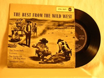 "V. A.   -  ""The best from The Wild West""               EP w. PS"