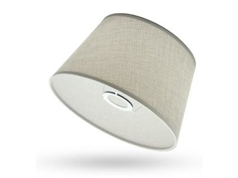 Cotton Textured Fabric PVC Linen Shade Desk Ceiling Lamps...