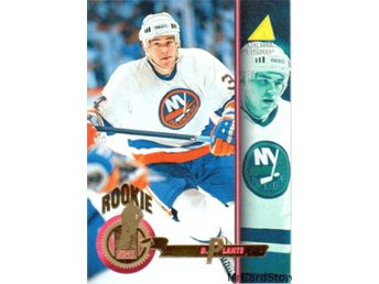 1994-95 Pinnacle 488 Dan Plante RC, ROO New York Islanders