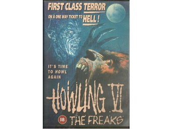 HOWLING VI  ( EJ TEXT ! - VHS FILM)