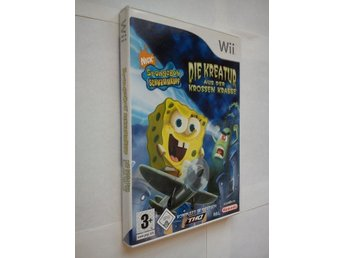 Wii: Spongebob Squarepants - Creature From the Krusty Krab