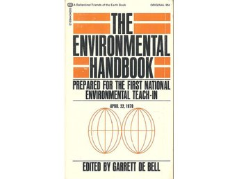 Garret de Bell: The environmental handbook.