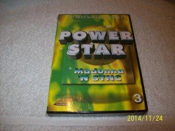 KARAOKE - POWER STAR 3 - MADONNA & N SYNC (NY INPLASTAD) - åstorp - KARAOKE - POWER STAR 3 - MADONNA & N SYNC (NY INPLASTAD) - åstorp