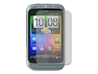 HTC Wildfire S Displayskydd (Klar)