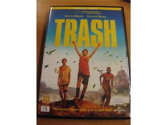 TRASH - MARTIN SHEEN, ROONEY MARA - DRAMA - DVD - Hörby - TRASH - MARTIN SHEEN, ROONEY MARA - DRAMA - DVD - Hörby