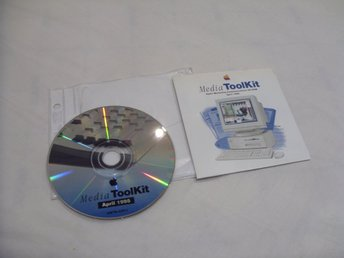 Apple Media Toolkit April 1995 English version CD ROM sales, adverts, multimedia